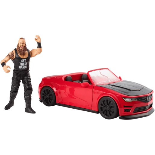 WWE Wrekkin Slam Mobile with 15cm Braun Strowman Figure