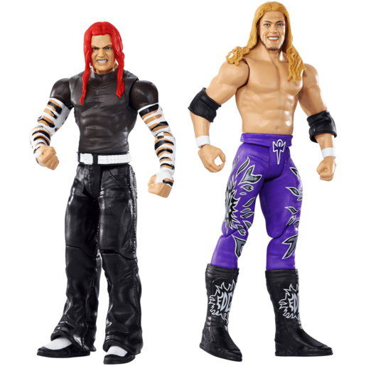 WWE Wrestle Mania 2 Pack 15cm Action Figures - Jeff Hardy and Edge