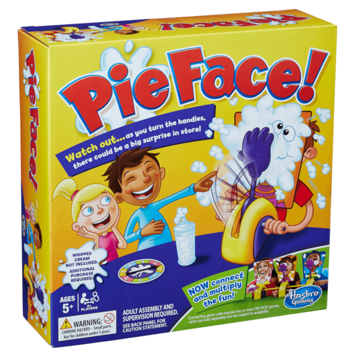 Pie Face Chain Reaction Game