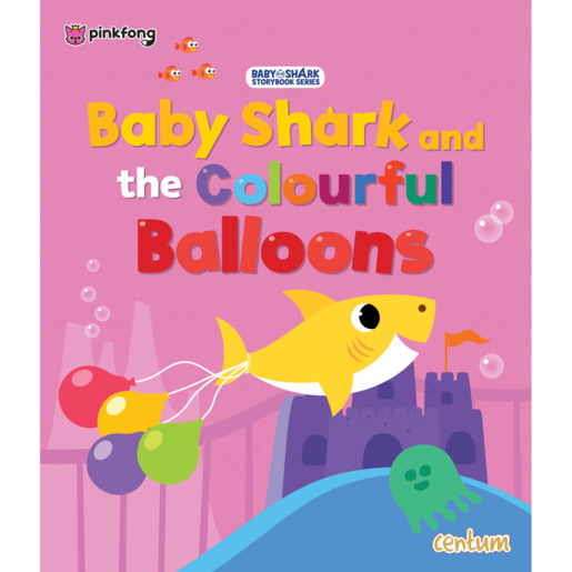 Baby Shark And The Colourful Balloons Book