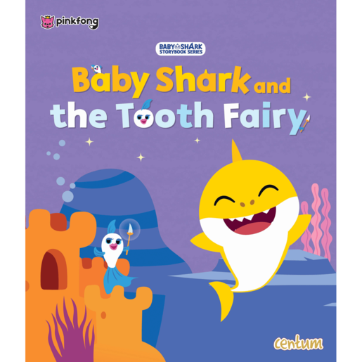 Baby Shark And The Tooth Fairy Book