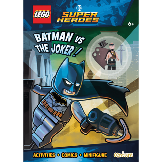 LEGO DC Comics Batman - Activity Book with Mini Figure