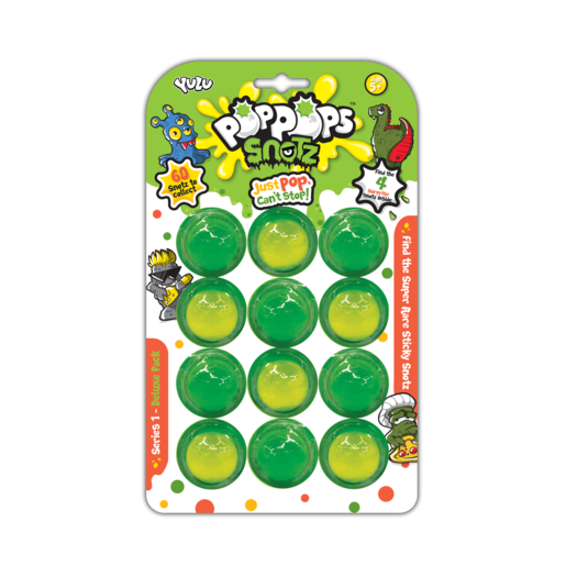 Pop Pops Snotz - Deluxe Pack (12 Bubbles)