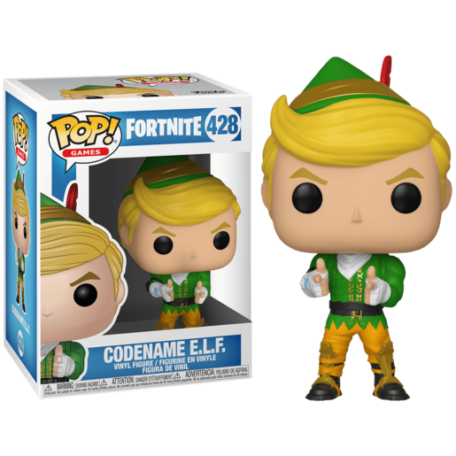 Funko Pop! Games: Fortnite - Codename E.L.F.