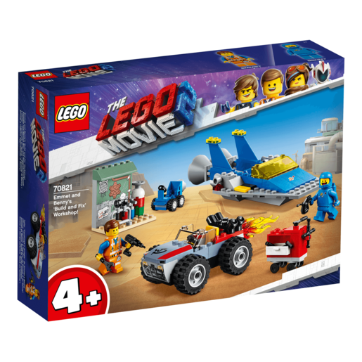 The LEGO Movie 2 Emmet and Benny's Build and Fix Works - 70821