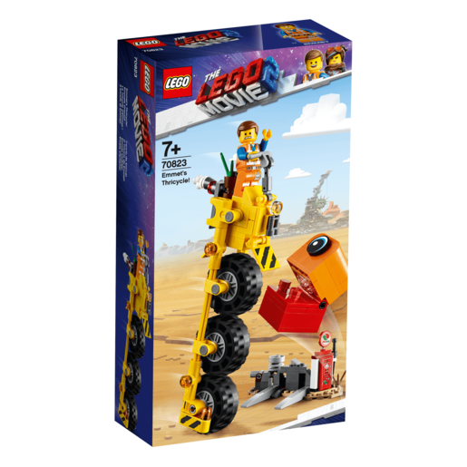 The LEGO Movie 2 Emmet's Tricycle - 70823