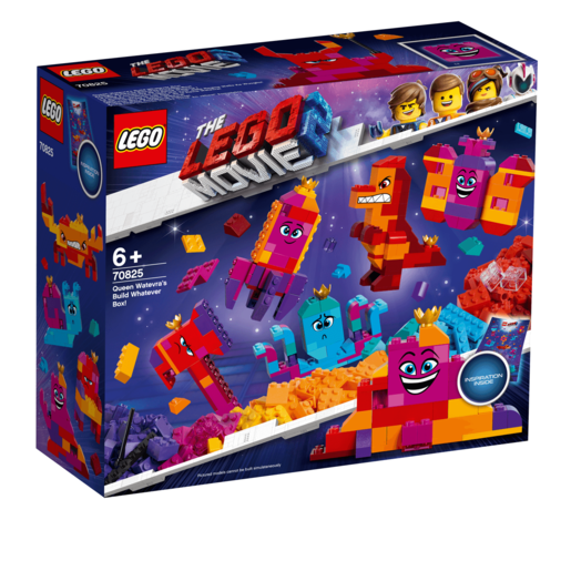The LEGO Movie 2 Queen Watevra's Build Whatever Box - 70825