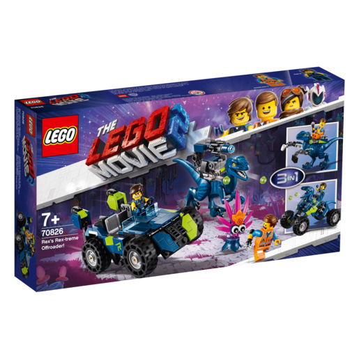 The LEGO Movie 2 Rex's Rex-treme Offroader - 70826