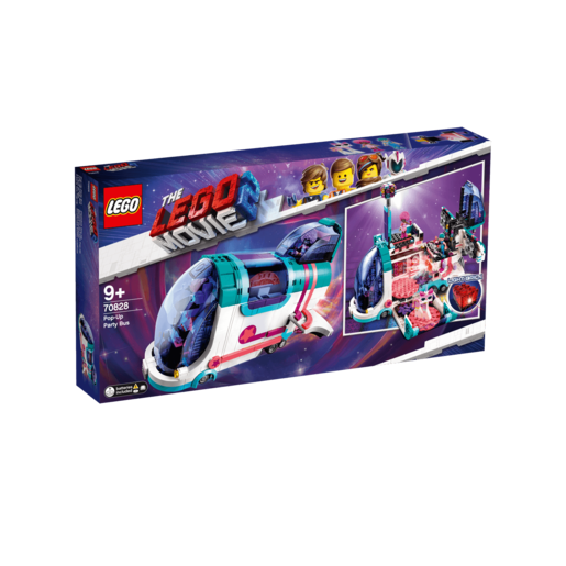 The LEGO Movie 2 Pop-Up Party Bus - 70828