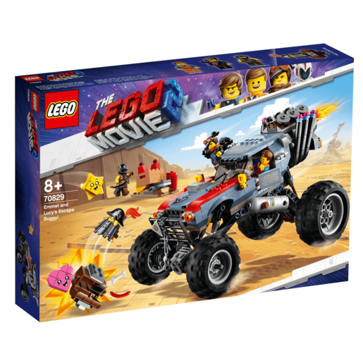 The LEGO Movie 2 Emmet and Lucy's Escape Buggy - 70829