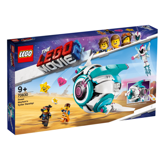 The LEGO Movie 2 Sweet Mayhem's Systar Starship - 70830