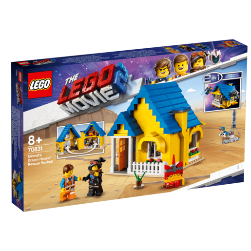 The LEGO Movie 2 Emmet's Dream House/Rescue Rocket - 70831