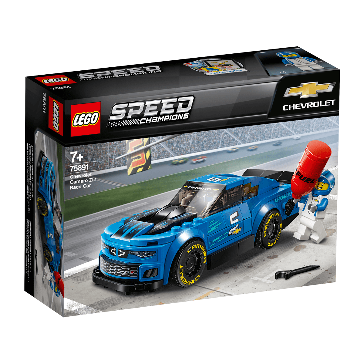 Build Your Own Camaro >> Lego Speed Champions Chevrolet Camaro Zl1 Race Car 75891