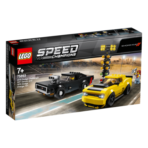 LEGO Speed Champions Doge Challenger vs Dodge Charger - 75893
