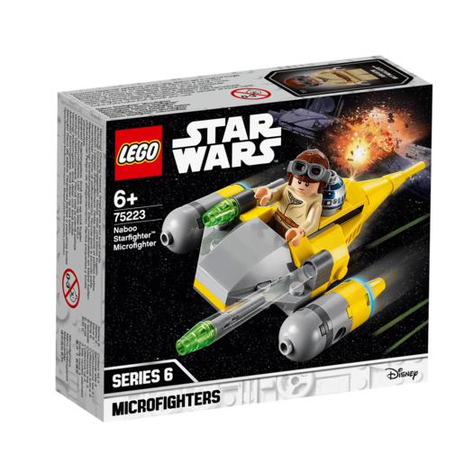 ee5c31009678d LEGO Star Wars Naboo Starfighter Microfighter - 75223