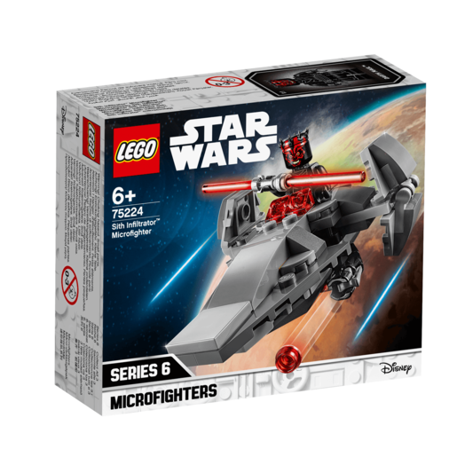LEGO Star Wars Sith Infiltrator Microfighters - 75224