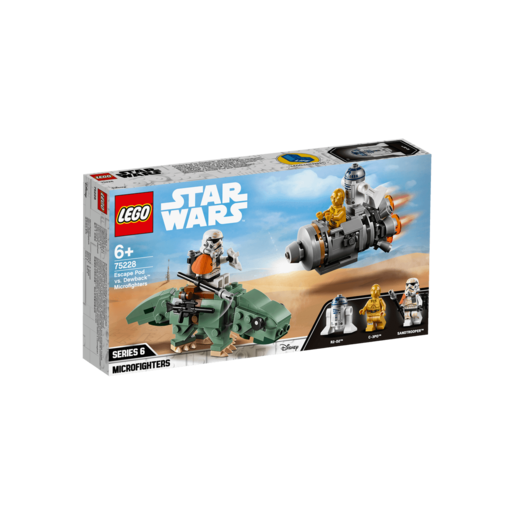 LEGO Star Wars Escape Pod vs. Dewback Microfighters - 75228