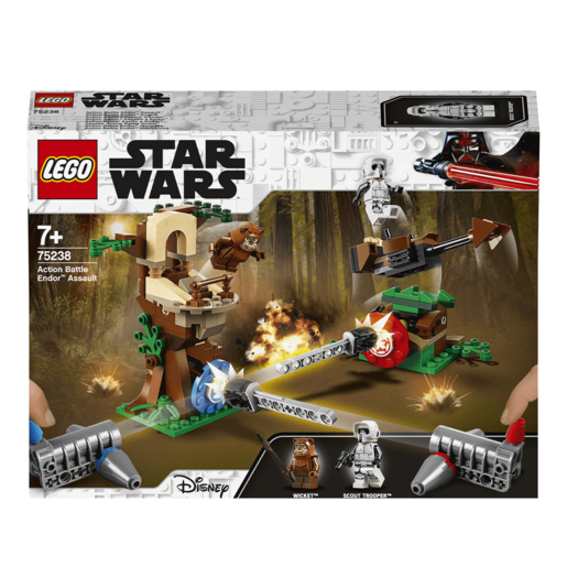 LEGO Star Wars Action Battle Endor Assault - 75238