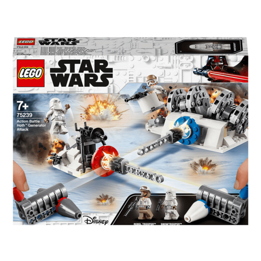 LEGO Star Wars Action Battle Hoth Generator Attack - 75239