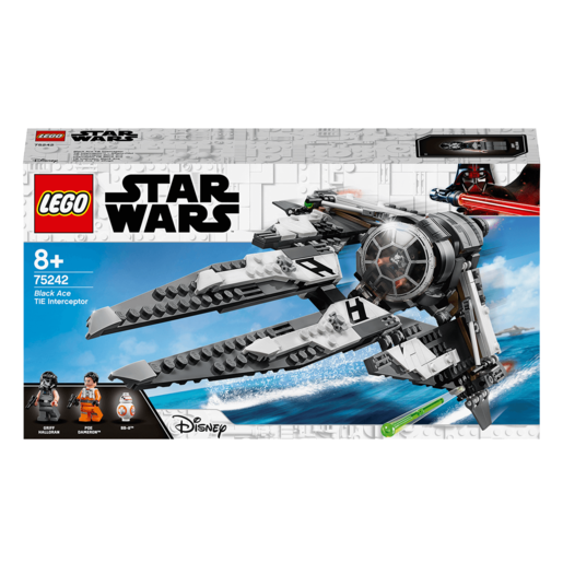 LEGO Star Wars Black Ace TIE Interceptor - 75242