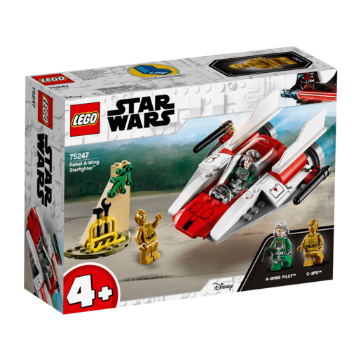 LEGO Star Wars Rebel A-Wing Starfighter - 75247