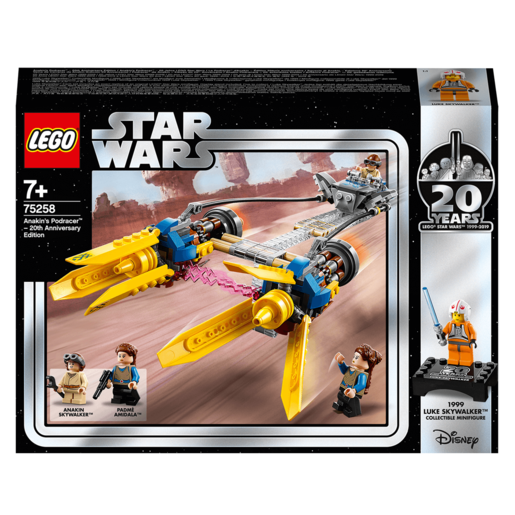LEGO Star Wars 20th Anniversary Edition Anakin's Podracer - 75258