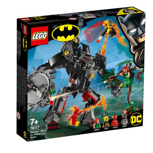 LEGO DC Batman Mech Vs Poison Ivy Mech   76117