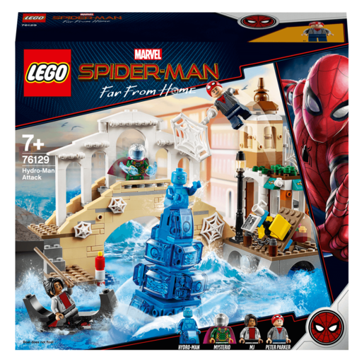 LEGO Marvel Spider Man Far From Home Hydro Man Attack   76129