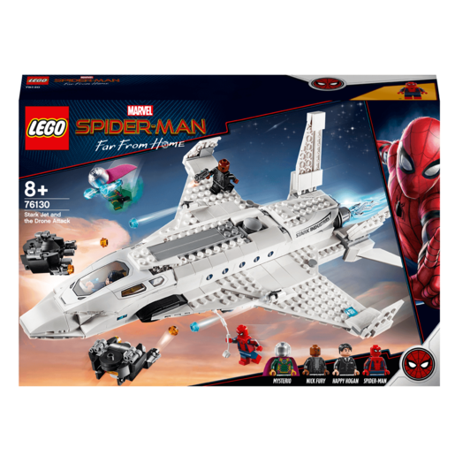 LEGO Marvel Spider-Man Far From Home Stark Jet and The Drone Attack - 76130