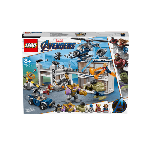 LEGO Marvel Avengers Endgame Avengers Compound Battle - 76131