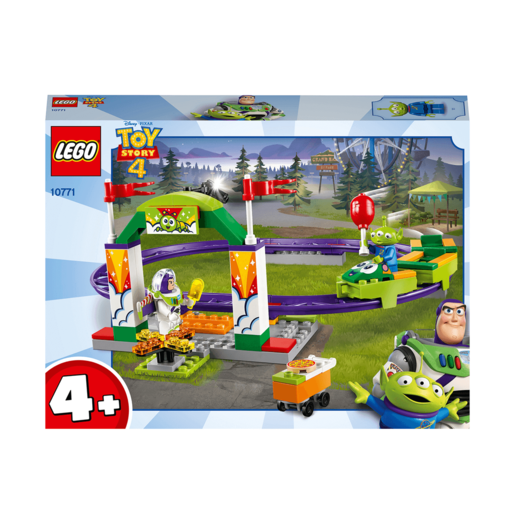 LEGO Disney Pixar Toy Story 4 Carnival Thrill Coaster - 10771