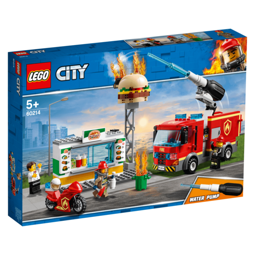 LEGO City Burger Bar Fire Rescue - 60214