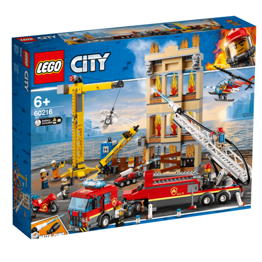 LEGO City Downtown Fire Brigade - 60216