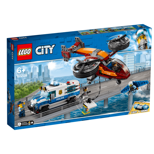 LEGO City Sky Police Diamond Heist - 60209
