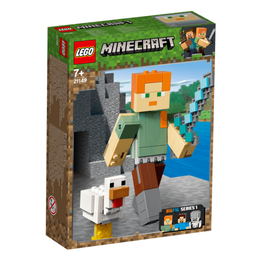 LEGO Minecraft Alex BigFig with Chicken - 21149