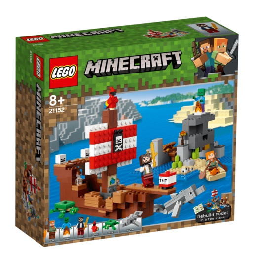 LEGO Minecraft The Pirate Ship Adventure - 21152