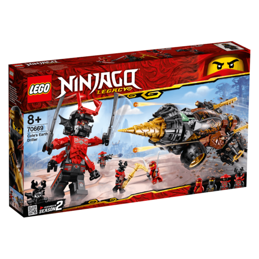 LEGO Ninjago Cole's Earth Driller - 70669