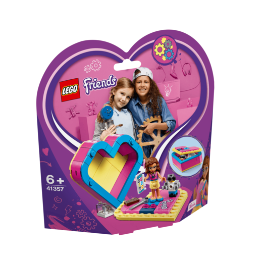 LEGO Friends Olivia's Heart Box - 41357