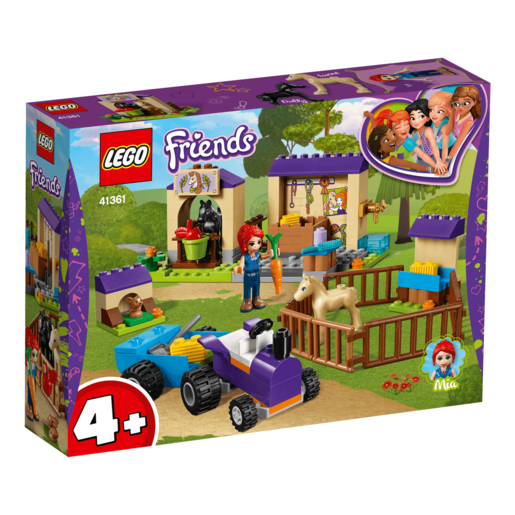 LEGO Friends Mia's Foal Stable - 41361 from TheToyShop