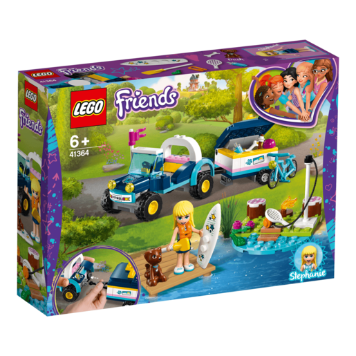 LEGO Friends Stephanie's Buggy and Trailer - 41364