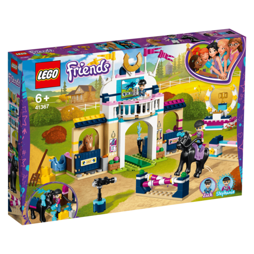 LEGO Friends Stephanie's Horse Jumping - 41367 from TheToyShop