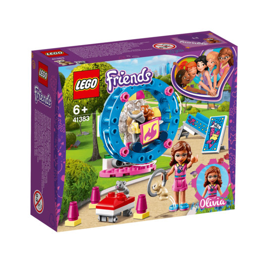 LEGO Friends Olivia's Hamster Playground - 41383
