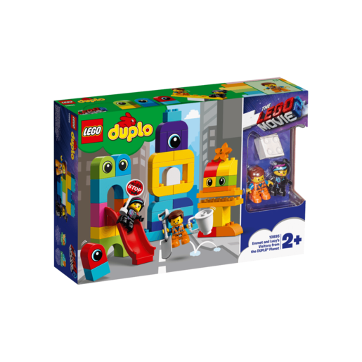 The LEGO Movie 2 LEGO Duplo Emmet And Lucy's Visitors  10895