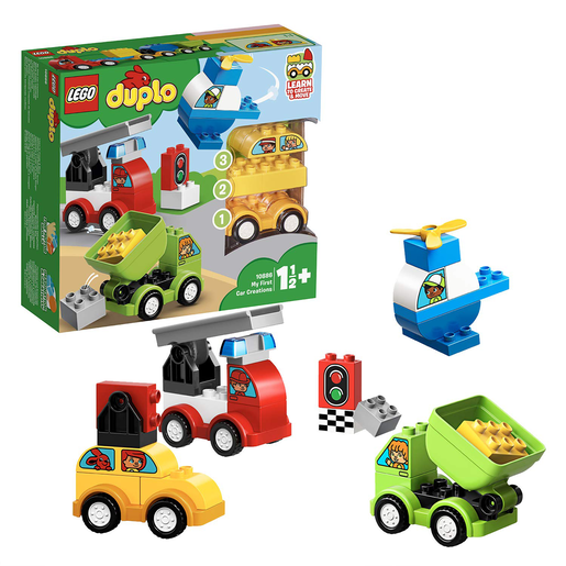 LEGO Duplo My First Car Creations - 10886 from TheToyShop