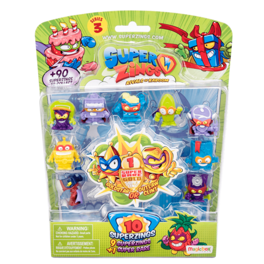 SuperZings Series 3 - 10 pack