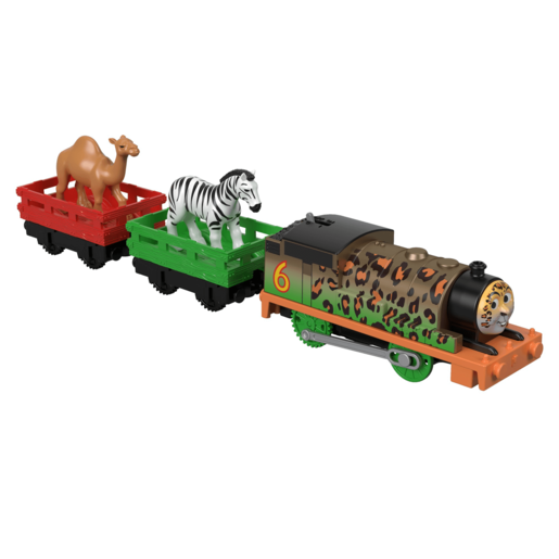 Fisher-Price Thomas & Friends TrackMaster - Animal Party Percy and Carriages