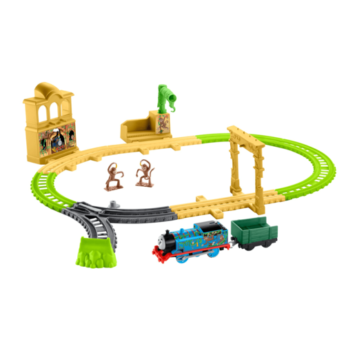 Fisher Price Thomas & Friends TrackMaster   Monkey Palace Playset