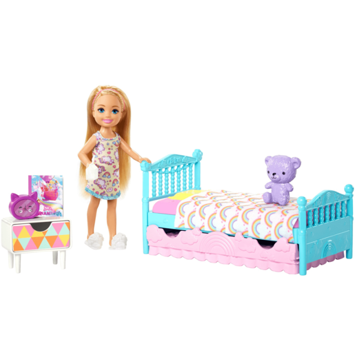 Barbie Club Chelsea 15cm Doll and Bedroom Playset