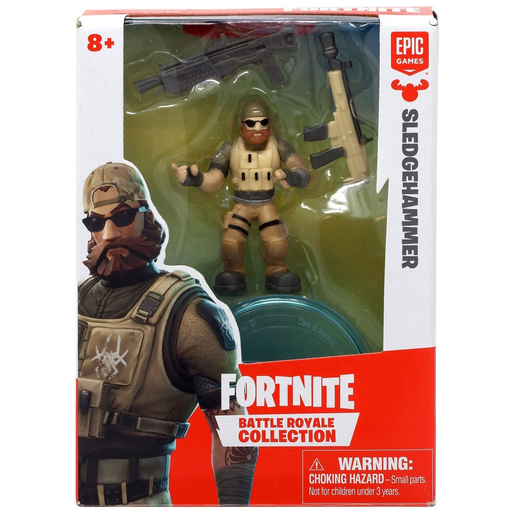 Fortnite Series 1 Battle Royale Collection Figure - Sledgehammer
