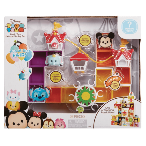 Disney Tsum Tsum Stack 'Ems Deluxe Display Set